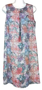 H&M short dress multi color Floral on Tradesy