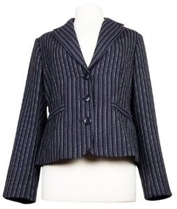 CAbi Striped black gray Blazer