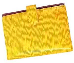 Louis Vuitton Epi LV Yellow agenda Planner