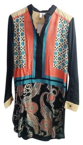 Anthropologie Bl^nk Blank Dress Print Tunic