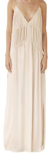 beige Maxi Dress by The Jetset Diaries