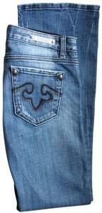 Express Re Rock Distressed Embroidered Skinny Skinny Jeans-Distressed