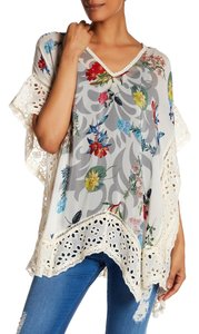 Johnny Was Festival Crochet Poncho Tunic