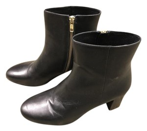 J.Crew Leather Ankle Spring Black Boots
