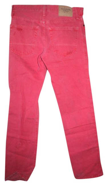 Item - Coral Slightly Distressed Skinny Jeans Size 28 (4, S)
