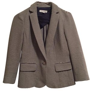 Banana Republic White and Navy Blazer