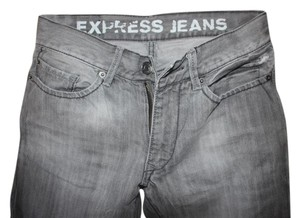 Express Slim Slim Fit Denim Mens Boyfriend Cut Jeans