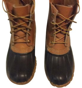 L.L.Bean Tan and Brown Boots