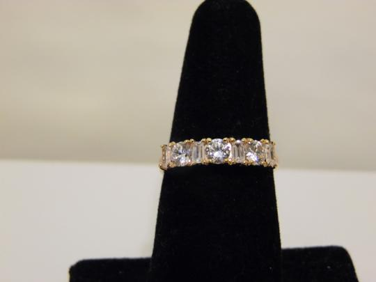 Other Baguette & Round Absolute Diamond Ring size 8 Image 10