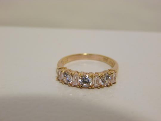 Other Baguette & Round Absolute Diamond Ring size 8 Image 8