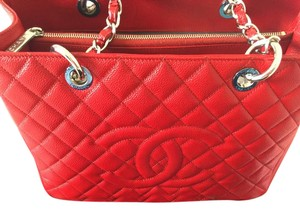 Chanel Limited Edition Tote in Red