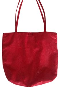 Carlos Falchi Tote in Red