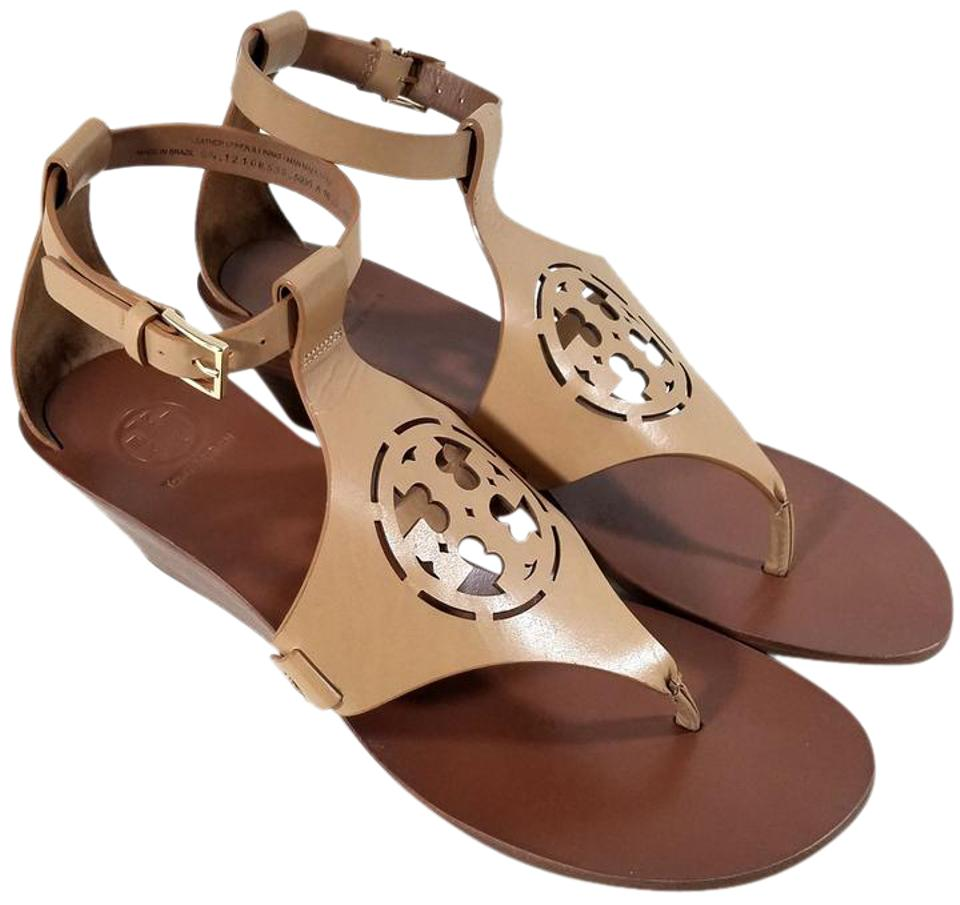 8be2c4acde6ca Tory Burch Sand  zoey  Wedges Size US 10 Regular (M