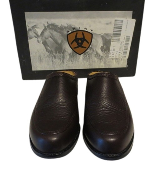 Preload https://item4.tradesy.com/images/ariat-brown-leather-in-box-mulesslides-size-us-6-regular-m-b-2084618-0-0.jpg?width=440&height=440
