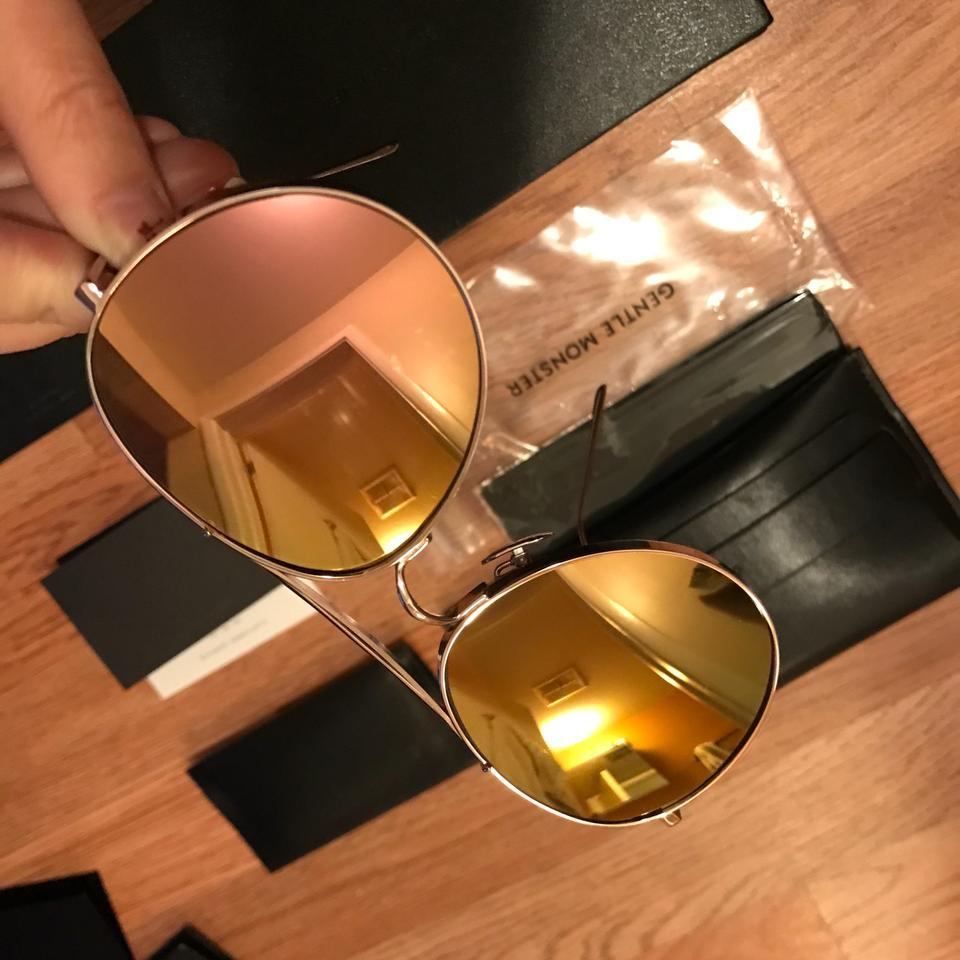 0903870159010 Gentle Monster Rose Gold Big Bully Limited Edition P1(Pm) Sunglasses ...