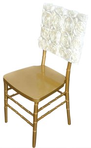 50 Chair Cap Cover Ivory