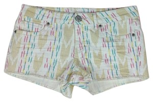 Mossimo Supply Co. Casual Mini/Short Shorts Multicolored