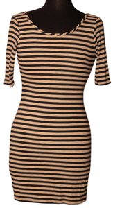 Velvet Torch Summer Work Casual Cocktail Striped Dress