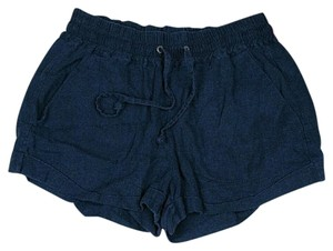 Forever 21 Cuffed Shorts Blue
