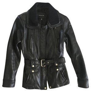 Jones New York Moto Leather Leather Jacket