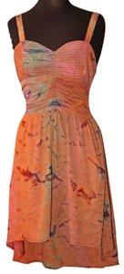 Multi Color Maxi Dress by American Rag Summer Work