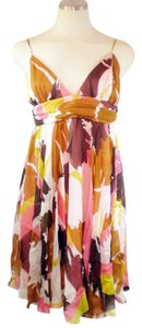 MILLY Silk Print Summer Dress