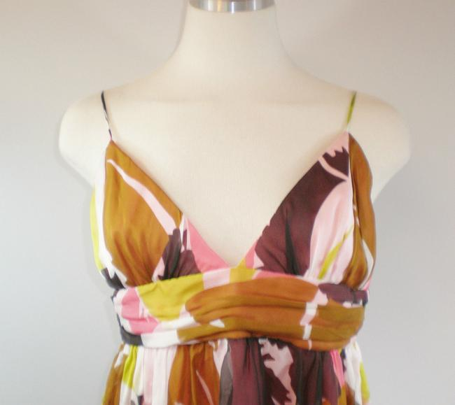 MILLY Silk Print Summer Retro Dress