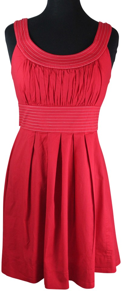 e96712c1b7 Maurices Red Mid-length Work Office Dress Size 10 (M) - Tradesy