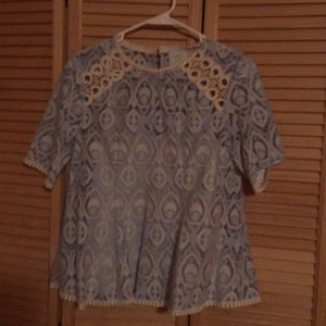 Anthropologie Top blue
