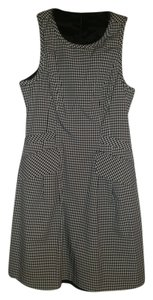 Nanette Lepore short dress black and white gingham on Tradesy
