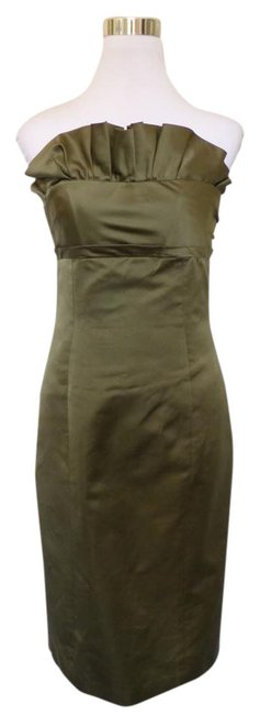 Item - Green Mid-length Cocktail Dress Size 6 (S)