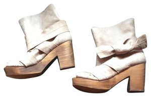 Free People taupe Mules
