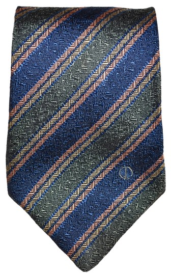 Preload https://item1.tradesy.com/images/alfred-dunhill-dunhill-blue-green-pink-striped-pattern-all-silk-designer-necktie-tie-made-in-england-guaranteed-authentic-2084780-0-0.jpg?width=440&height=440
