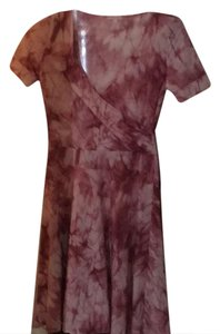 Romeo & Juliet Couture short dress pink tie dye on Tradesy