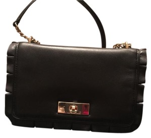 ee7e8c57595d Kate Spade Big Turnlock Astor Court Elena Black Quilted Leather ...