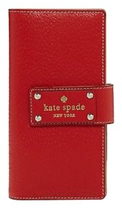 Kate Spade Kate Spade New York Wellesley Stacy Wallet Empire Red wlru1151