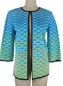 Ming Wang Couture Fashion Bargain Luxury Geometric Cardigan