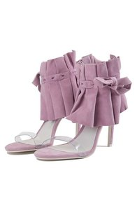 Jeffrey Campbell Lilac Suede Sandals