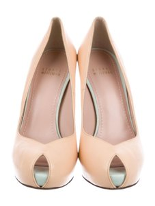 Stuart Weitzman Blush and Mint Pumps