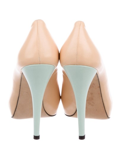 Stuart Weitzman Blush and Mint Pumps Image 2