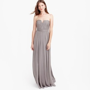 J.Crew Smoky Charcoal Nadia Long Dress Dress