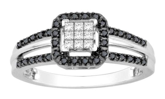 Preload https://img-static.tradesy.com/item/20848539/10k-white-gold-black-and-princess-cut-bridal-wedding-ring-0-0-540-540.jpg