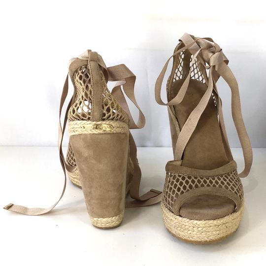 Barneys New York Gold Co-op Leather Sandals Size US 6