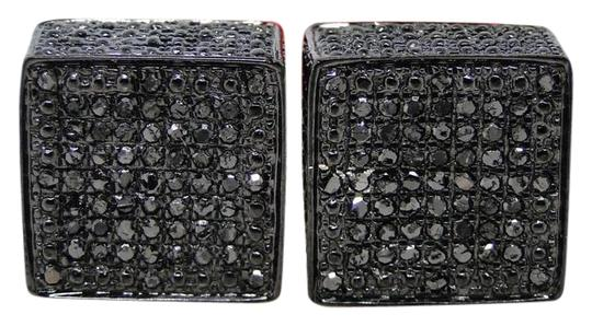 Preload https://img-static.tradesy.com/item/20848667/sterling-silver-finish-wrapped-with-pvd-black-diamonds-in-an-invisible-pave-setting-new-mens-ladies-0-1-540-540.jpg