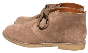 Lucky Brand Suede Tan Casual Stone Boots