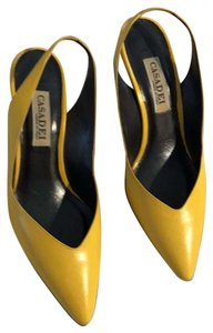 Casadei yellow Pumps