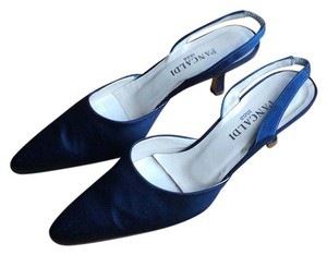 Pancaldi Navy Blue Pumps