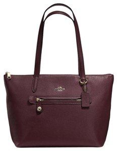 Coach 38312 Taylor Tote in Oxblood