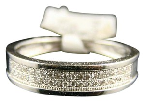 Other 10K MENS/LADIES FULL PAVE WG DIAMOND WEDDING BAND RING