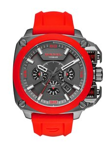 Diesel Diesel Men's BAMF Gunmetal and Silicone Watch DZ7368